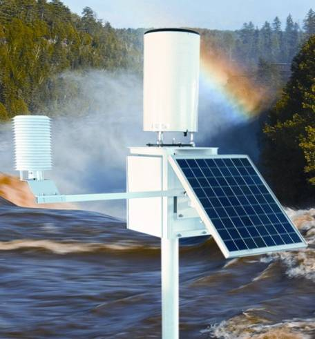 山洪地质灾害防御自动气象站